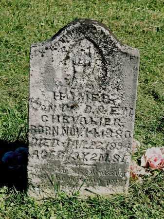 CHEVALIER, HOMER - Meigs County, Ohio | HOMER CHEVALIER - Ohio Gravestone Photos