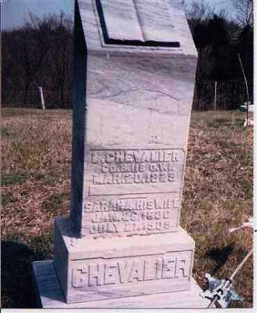 CHEVALIER, L. - Meigs County, Ohio | L. CHEVALIER - Ohio Gravestone Photos