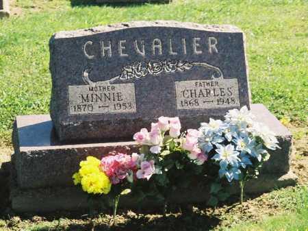 CHEVALIER, MINNIE - Meigs County, Ohio | MINNIE CHEVALIER - Ohio Gravestone Photos