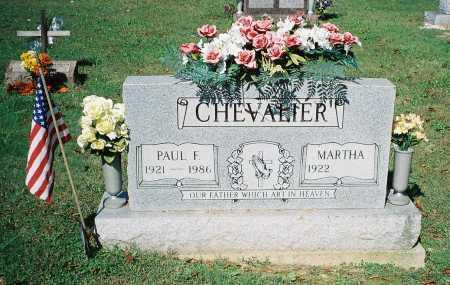 CHEVALIER, PAUL F. - Meigs County, Ohio | PAUL F. CHEVALIER - Ohio Gravestone Photos