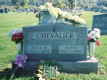 CHEVALIER, ROY C. - Meigs County, Ohio   ROY C. CHEVALIER - Ohio Gravestone Photos