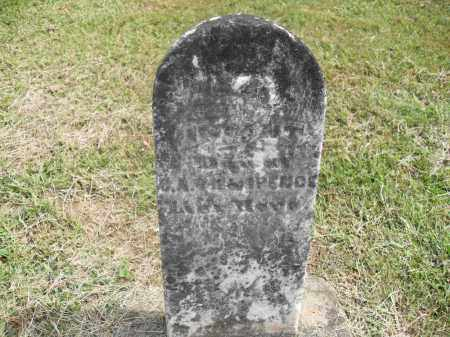 ARCHER, INFANT - Meigs County, Ohio   INFANT ARCHER - Ohio Gravestone Photos