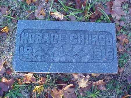 CHURCH, HORACE JOHNSON - Meigs County, Ohio | HORACE JOHNSON CHURCH - Ohio Gravestone Photos
