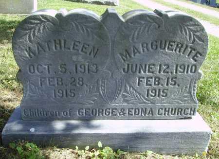 CHURCH, KATHLEEN NORA - Meigs County, Ohio | KATHLEEN NORA CHURCH - Ohio Gravestone Photos