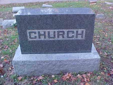 CHURCH, MONUMENT - Meigs County, Ohio | MONUMENT CHURCH - Ohio Gravestone Photos