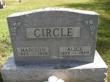 CIRCLE, MADISON - Meigs County, Ohio | MADISON CIRCLE - Ohio Gravestone Photos