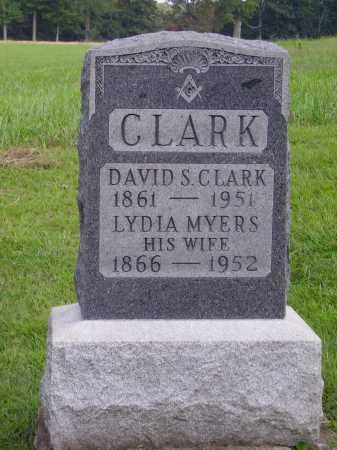 CLARK, DAVID S. - Meigs County, Ohio | DAVID S. CLARK - Ohio Gravestone Photos