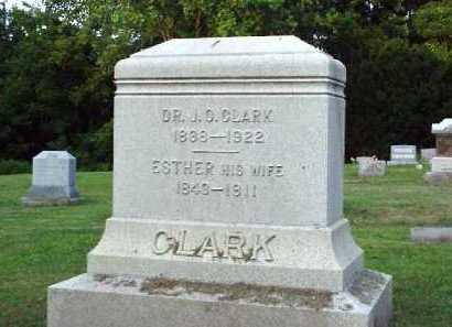 CLARK, DR. J.O. - Meigs County, Ohio   DR. J.O. CLARK - Ohio Gravestone Photos
