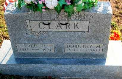 CLARK, FRED H. - Meigs County, Ohio | FRED H. CLARK - Ohio Gravestone Photos