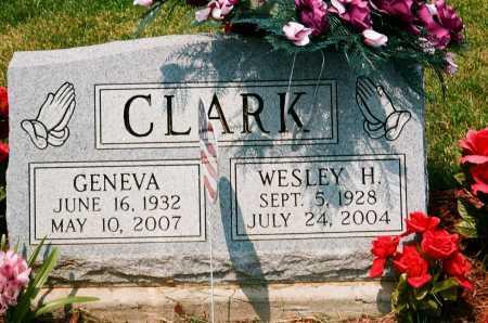 CLARK, WESLEY H. - Meigs County, Ohio   WESLEY H. CLARK - Ohio Gravestone Photos
