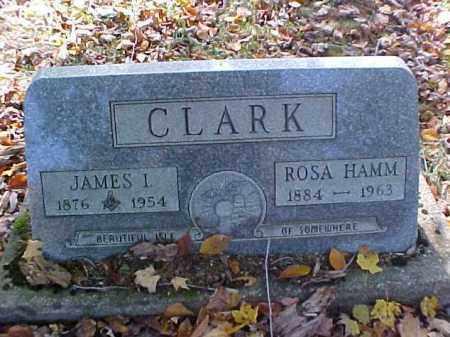 CLARK, JAMES I. - Meigs County, Ohio   JAMES I. CLARK - Ohio Gravestone Photos
