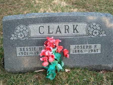 ROWE CLARK, BESSIE H. - Meigs County, Ohio   BESSIE H. ROWE CLARK - Ohio Gravestone Photos