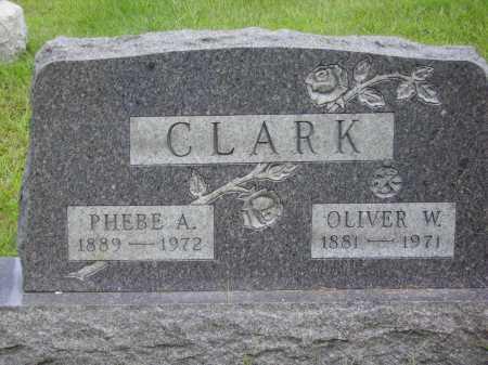 CLARK, OLIVER W. - Meigs County, Ohio   OLIVER W. CLARK - Ohio Gravestone Photos
