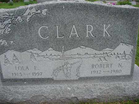 CLARK, ROBERT N - Meigs County, Ohio | ROBERT N CLARK - Ohio Gravestone Photos
