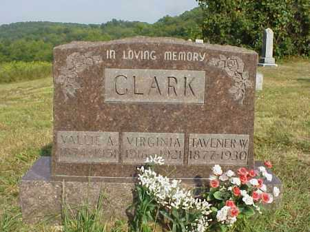 CLARK, VIRGINIA - Meigs County, Ohio | VIRGINIA CLARK - Ohio Gravestone Photos
