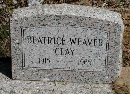 CLAY, BEATRICE WEAVER - Meigs County, Ohio | BEATRICE WEAVER CLAY - Ohio Gravestone Photos