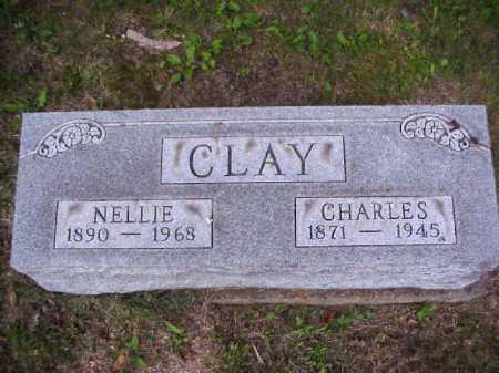 CLAY, NELLIE - Meigs County, Ohio | NELLIE CLAY - Ohio Gravestone Photos
