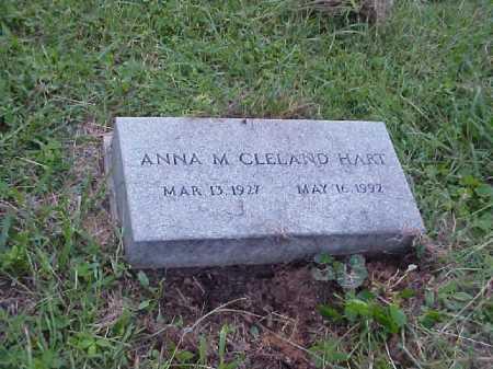 CLELAND, ANNA M. - Meigs County, Ohio | ANNA M. CLELAND - Ohio Gravestone Photos