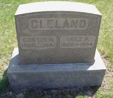 BEEGLE CLELAND, INEZ PEARL - Meigs County, Ohio | INEZ PEARL BEEGLE CLELAND - Ohio Gravestone Photos