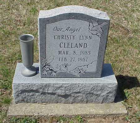 CLELAND, CHRISTY LYNN - Meigs County, Ohio | CHRISTY LYNN CLELAND - Ohio Gravestone Photos