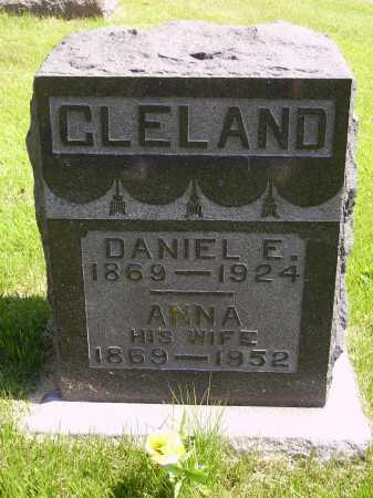 CLELAND, ANNA - Meigs County, Ohio | ANNA CLELAND - Ohio Gravestone Photos