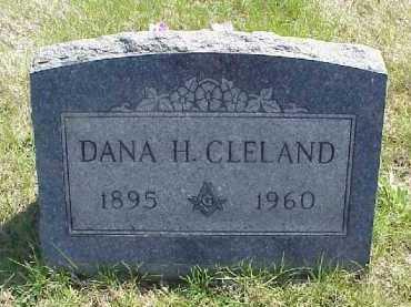 CLELAND, DANA H. - Meigs County, Ohio   DANA H. CLELAND - Ohio Gravestone Photos
