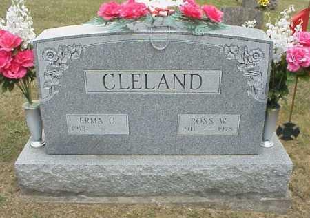CLELAND, ERMA O. - Meigs County, Ohio | ERMA O. CLELAND - Ohio Gravestone Photos