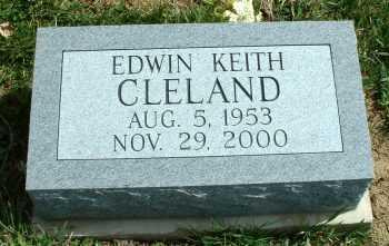 CLELAND, EDWIN KEITH - Meigs County, Ohio | EDWIN KEITH CLELAND - Ohio Gravestone Photos