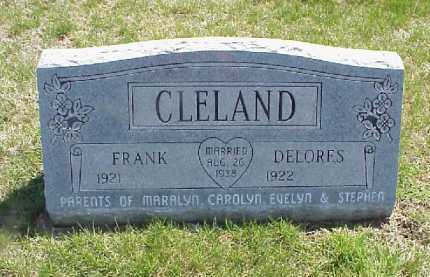 WOODWARD CLELAND, DELORES - Meigs County, Ohio | DELORES WOODWARD CLELAND - Ohio Gravestone Photos