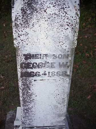 CLELAND, GEORGE W. - Meigs County, Ohio | GEORGE W. CLELAND - Ohio Gravestone Photos