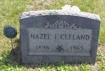 CLELAND, HAZEL I. - Meigs County, Ohio | HAZEL I. CLELAND - Ohio Gravestone Photos