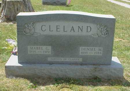 CLELAND, MABEL G. - Meigs County, Ohio | MABEL G. CLELAND - Ohio Gravestone Photos
