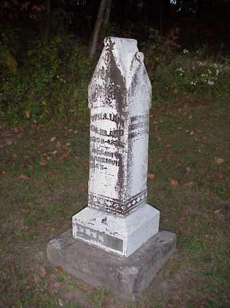 CLELAND MONUMENT, GEORGE, BARBARA, GEORGE - Meigs County, Ohio | GEORGE, BARBARA, GEORGE CLELAND MONUMENT - Ohio Gravestone Photos