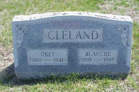 MANUEL CLELAND, BLANCHE W. - Meigs County, Ohio | BLANCHE W. MANUEL CLELAND - Ohio Gravestone Photos