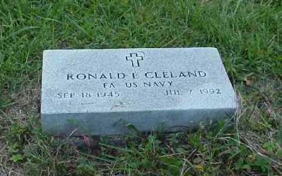 CLELAND, RONALD E. - Meigs County, Ohio | RONALD E. CLELAND - Ohio Gravestone Photos