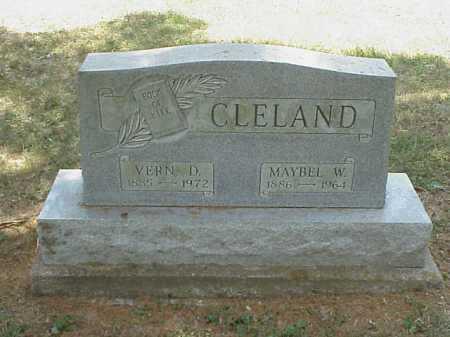 WINDSOR CLELAND, MAYBEL W. - Meigs County, Ohio | MAYBEL W. WINDSOR CLELAND - Ohio Gravestone Photos