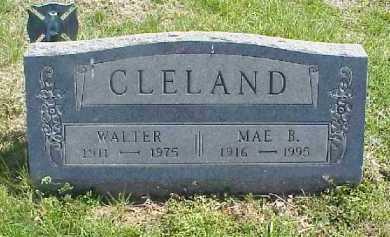 HOWELL CLELAND, MAE BELLE - Meigs County, Ohio | MAE BELLE HOWELL CLELAND - Ohio Gravestone Photos