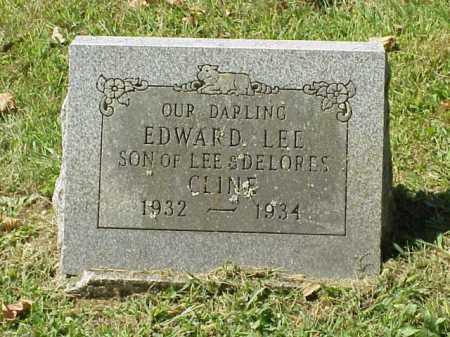 CLINE, EDWARD LEE - Meigs County, Ohio | EDWARD LEE CLINE - Ohio Gravestone Photos