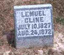 CLINE, LEMUEL - Meigs County, Ohio | LEMUEL CLINE - Ohio Gravestone Photos
