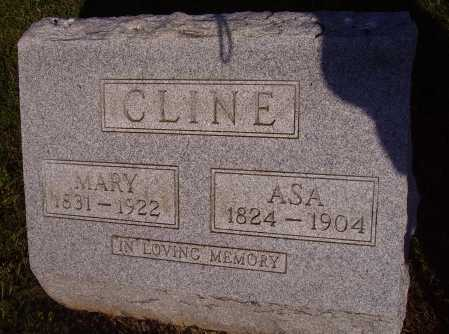 TRAINER CLINE, MARY - Meigs County, Ohio | MARY TRAINER CLINE - Ohio Gravestone Photos