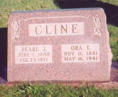 CLINE, PEARL J. - Meigs County, Ohio | PEARL J. CLINE - Ohio Gravestone Photos