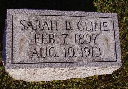 CLINE, SARAH B. - Meigs County, Ohio | SARAH B. CLINE - Ohio Gravestone Photos