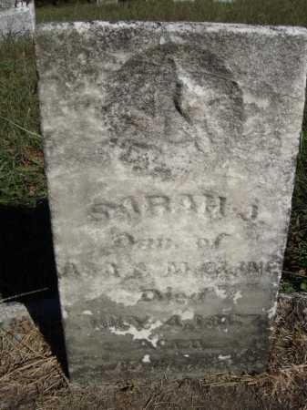 CLINE, SARAH J. - Meigs County, Ohio | SARAH J. CLINE - Ohio Gravestone Photos