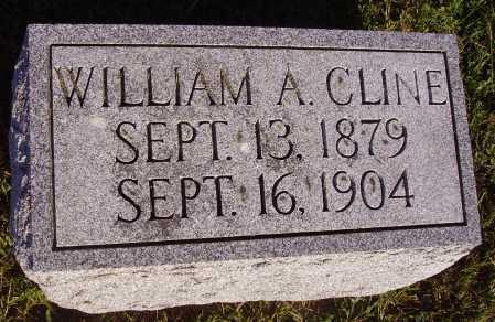 CLINE, WILLIAM - Meigs County, Ohio   WILLIAM CLINE - Ohio Gravestone Photos