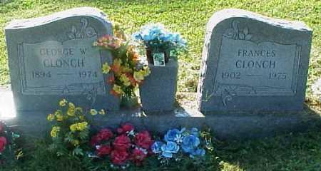 CLONCH, FRANCES - Meigs County, Ohio | FRANCES CLONCH - Ohio Gravestone Photos