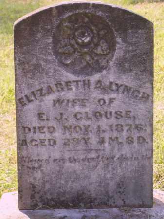 CLOUSE, ELIZABETH A. - Meigs County, Ohio | ELIZABETH A. CLOUSE - Ohio Gravestone Photos