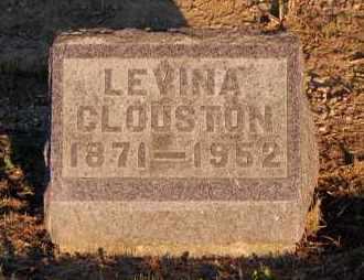 CLOUSTON, LEVINA - Meigs County, Ohio | LEVINA CLOUSTON - Ohio Gravestone Photos