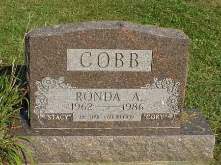 COBB, RONDA A. - Meigs County, Ohio | RONDA A. COBB - Ohio Gravestone Photos