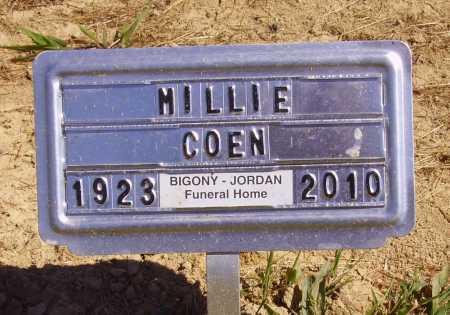HENSLER COEN, MILLIE RUTH - Meigs County, Ohio | MILLIE RUTH HENSLER COEN - Ohio Gravestone Photos