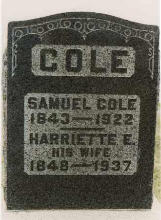 COLE, SAMUEL - Meigs County, Ohio | SAMUEL COLE - Ohio Gravestone Photos